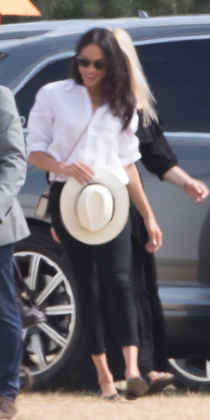 meghan markle look partido polo