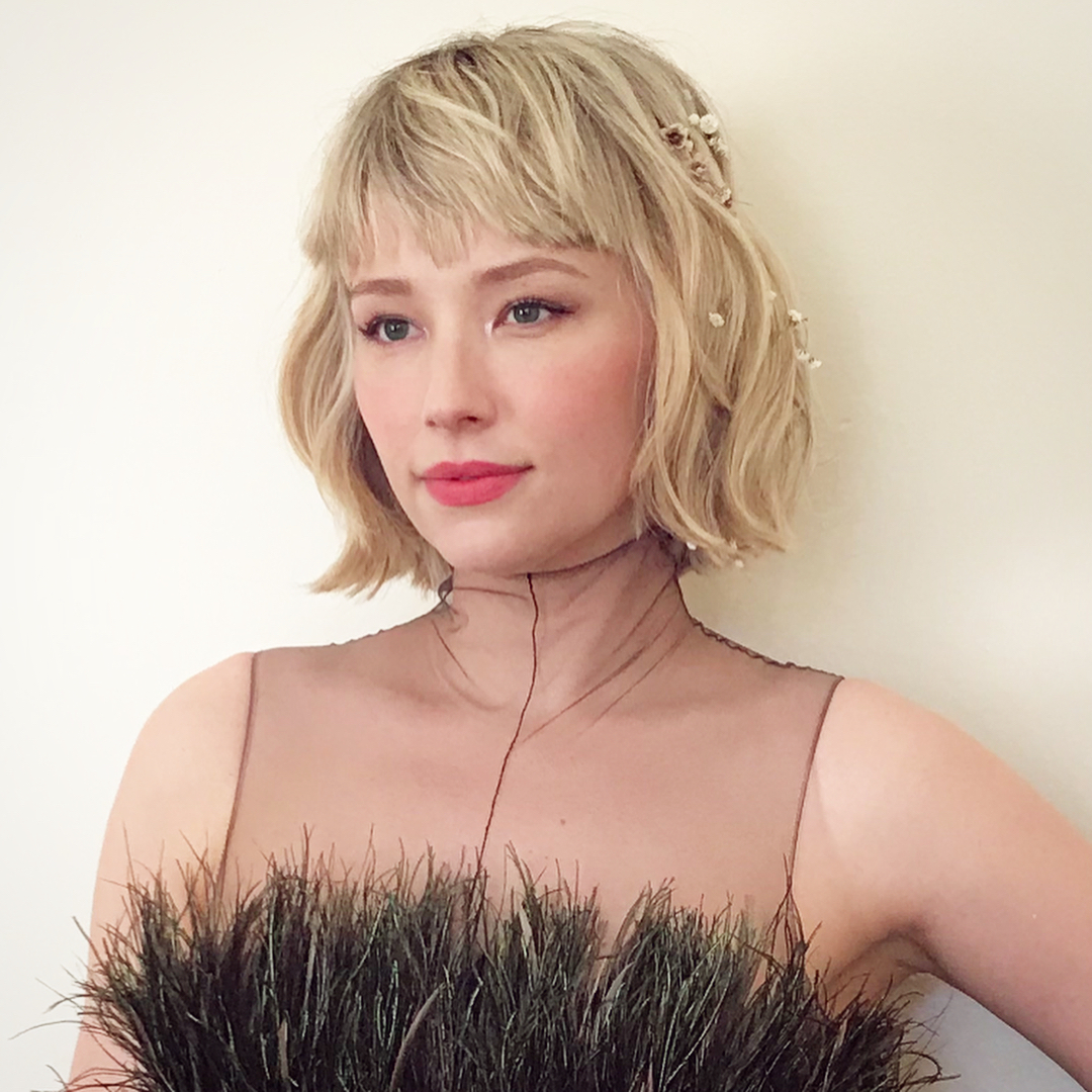 Peinados De Novia 2018 Segun Tu Forma De La Cara Instyle - Peinados-flequillo-recogido