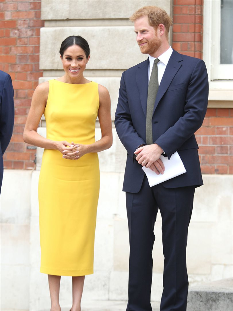 Meghan Markle look perfecto de invitada