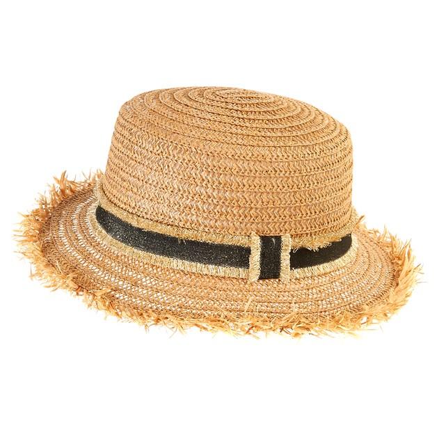 Sombrero de paja para la playa imprescindibles este verano 2018 ... f691f238a10