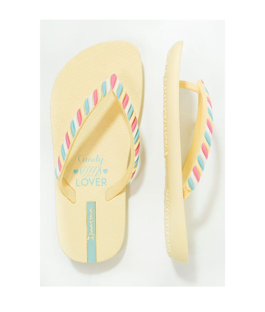 chanclas amarillas candy. Chanclas Ipanema a todo color