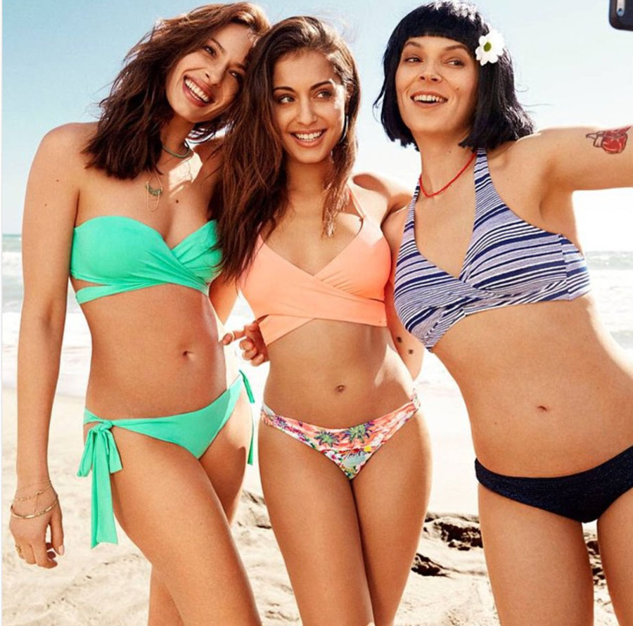 db4fd05f6 Hiba-Abouk-bikini-campaña-woman-secret. La primera foto de