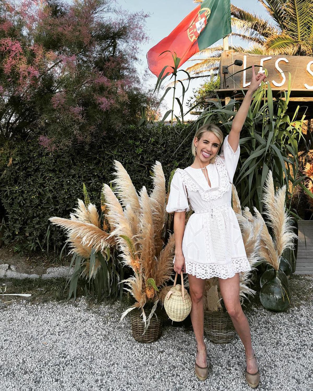 Vestido Ibicenco De Fiesta De Verano Para Mujer Instyle - Vestidos-ibicenco