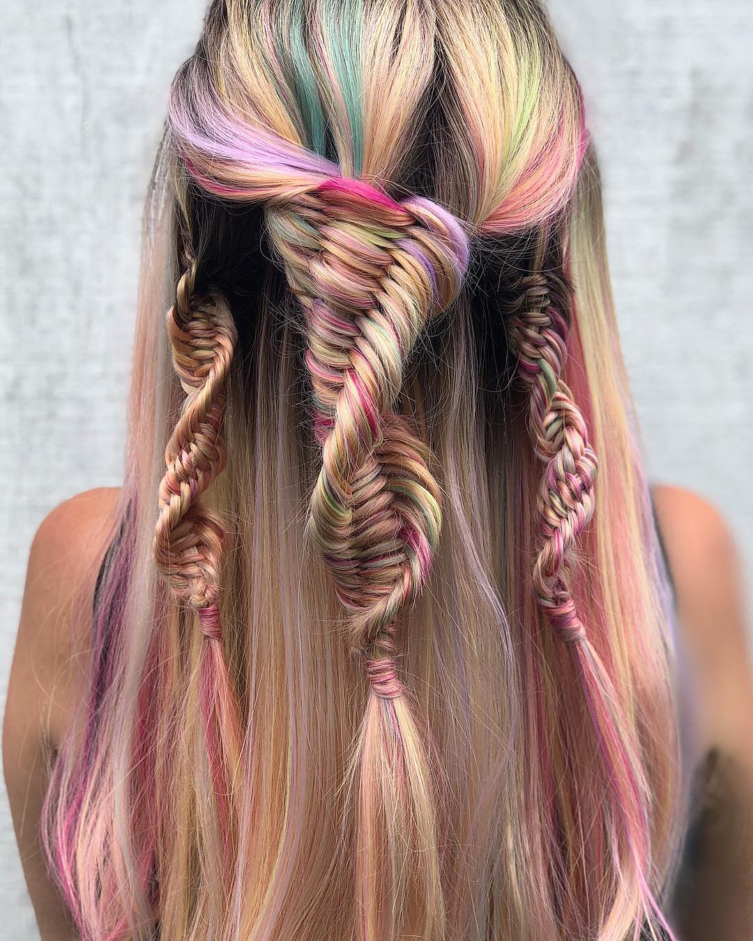 Peinados con trenza maria