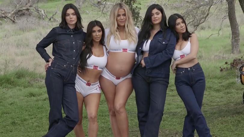 El fallo de photoshop de la campaña de las Kardashians con Calvin Klein