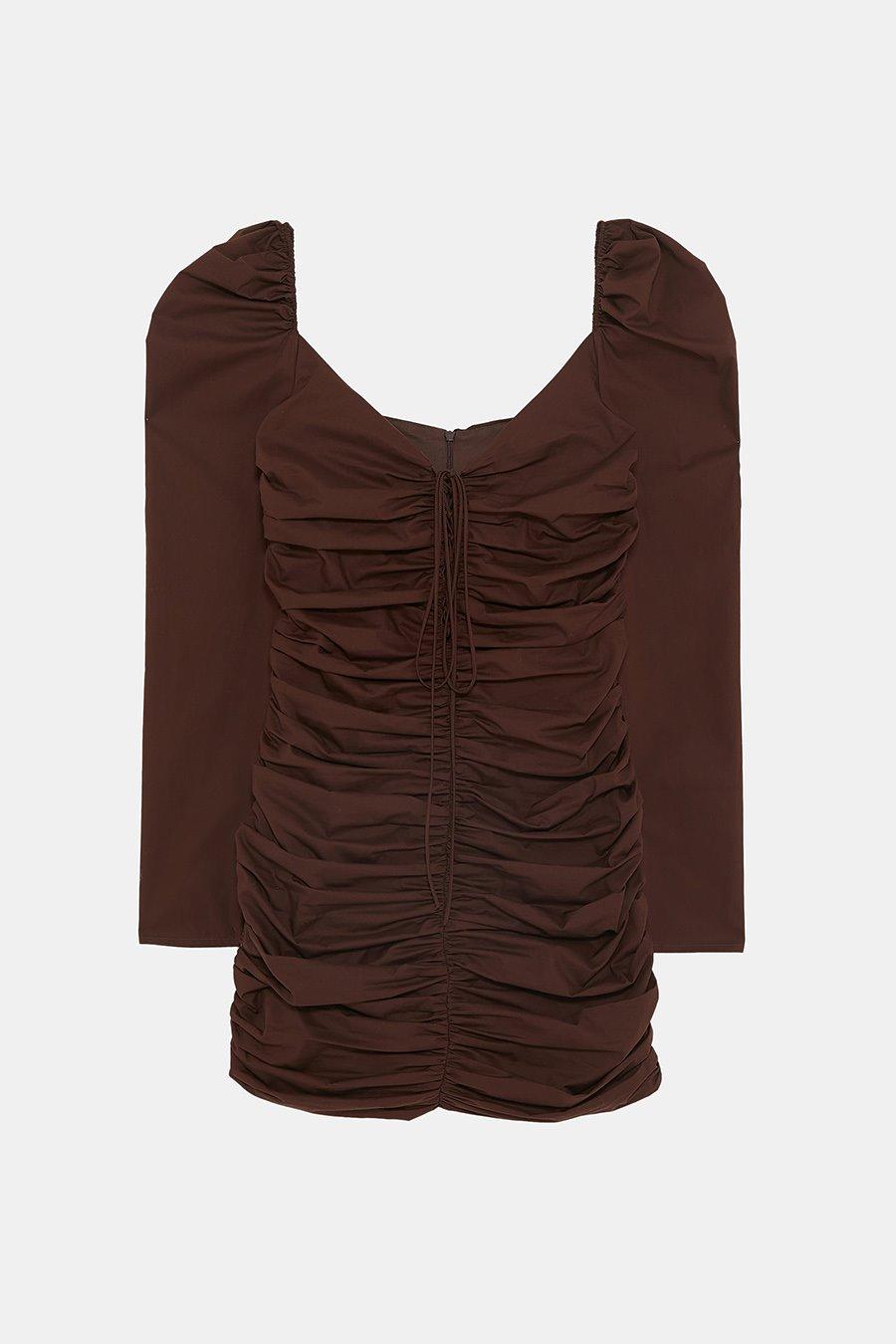 Marron Chocolate El Color Del Otono Segun La Nueva Coleccion Zara - El-color-marron