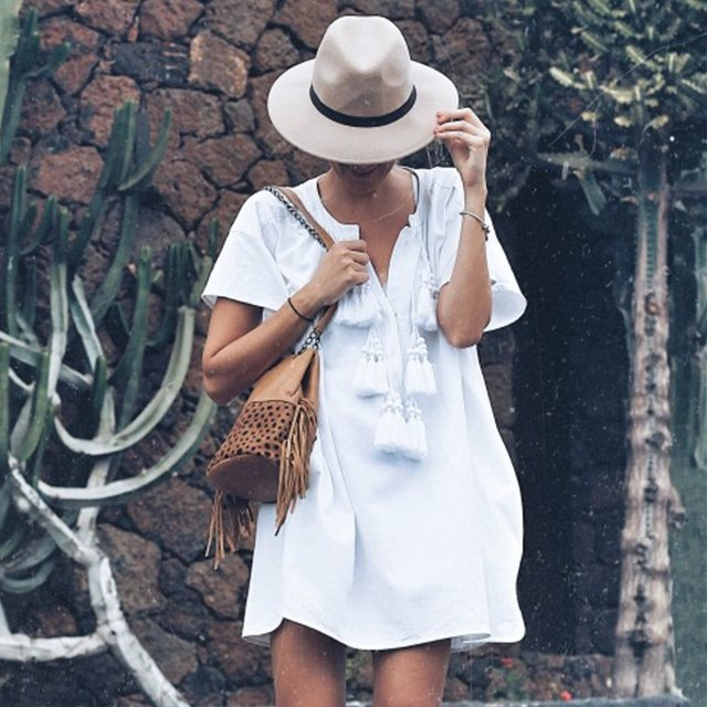 5 looks con vestido blanco perfectos para el verano, por 'Look and chic'