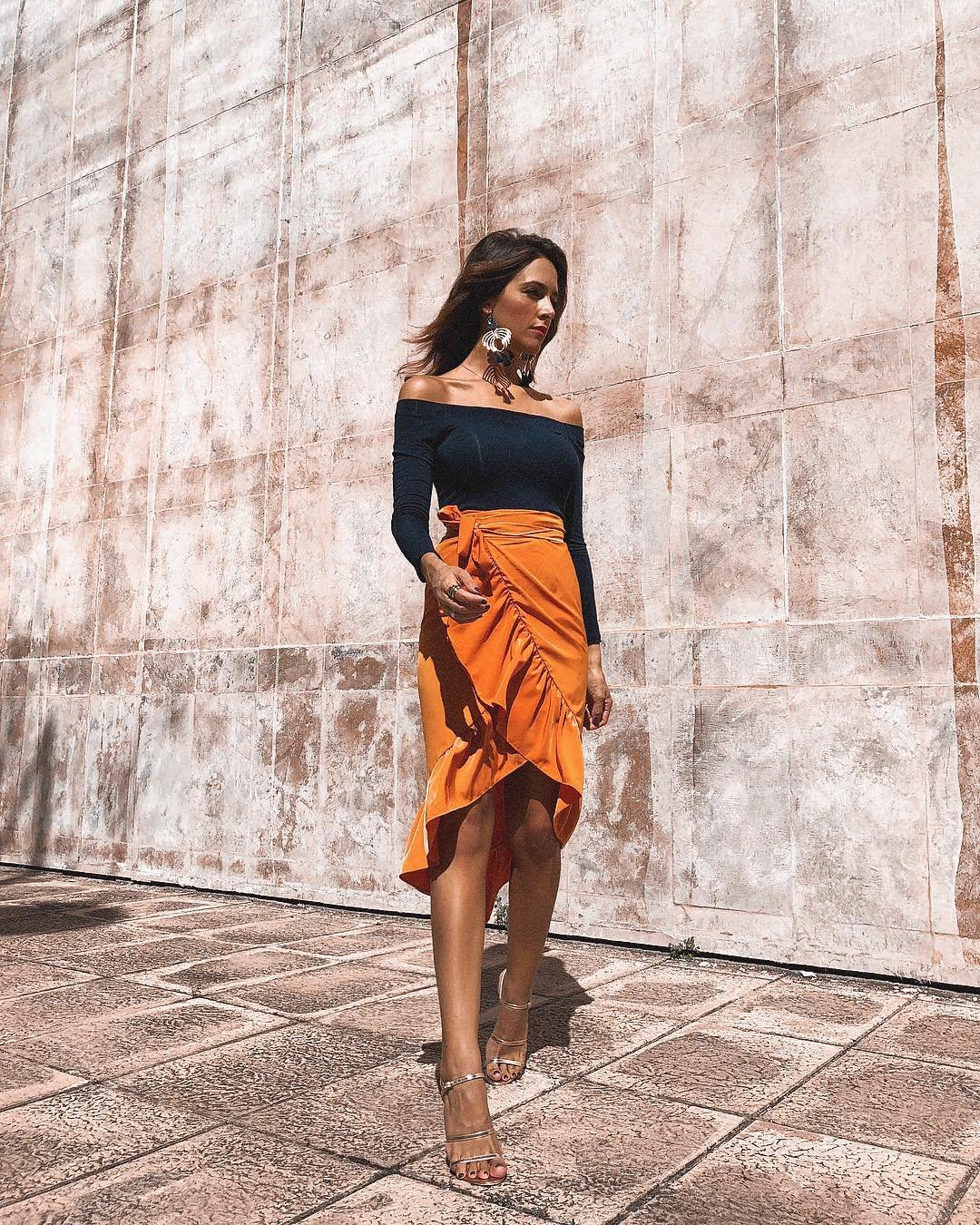 bca7e21548 faldas otoño 2018 nueva coleccion. 10 faldas de otoño que puedes empezar a  llevar hoy