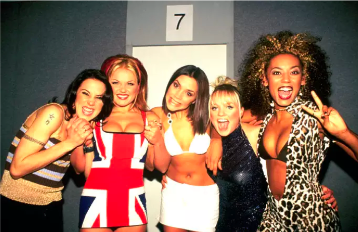 las spice girls