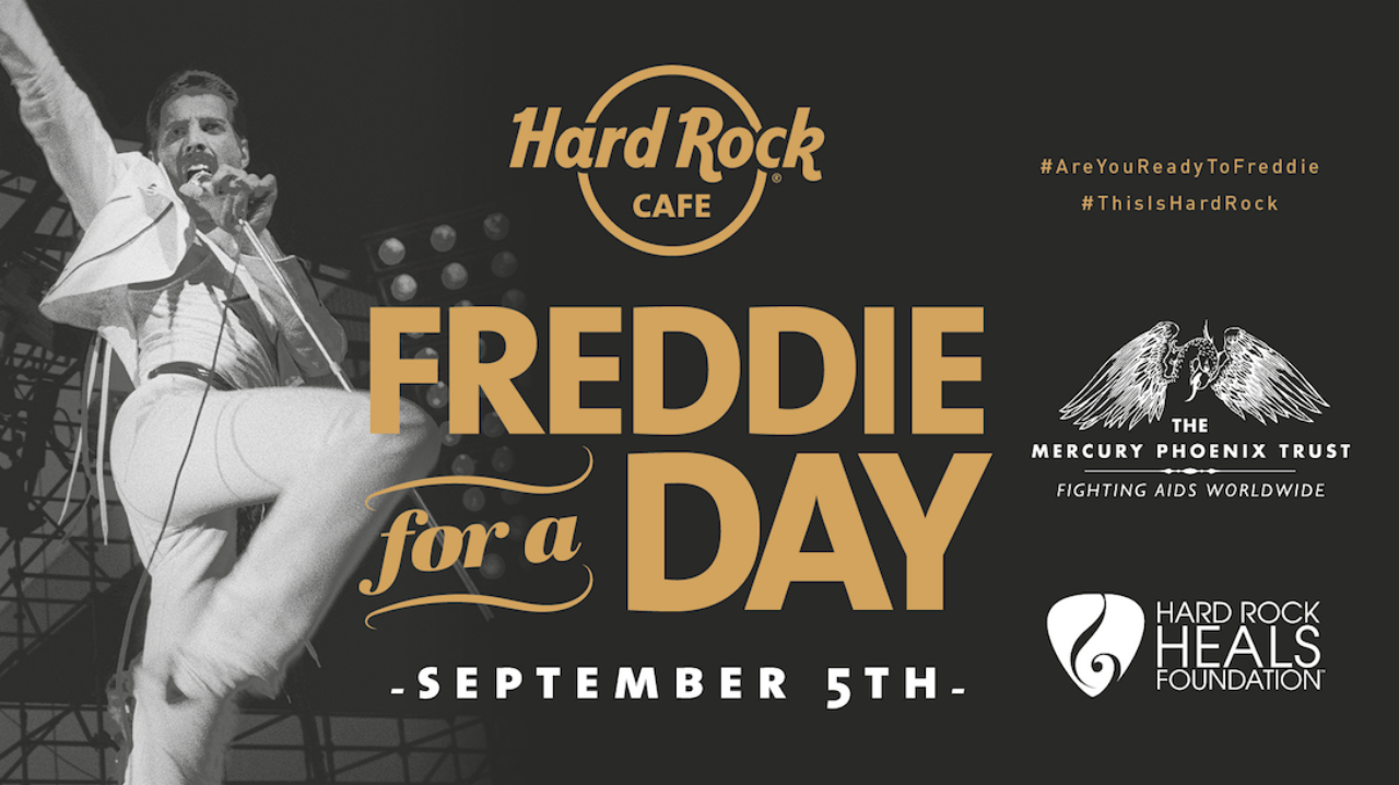 FREDDIE FOR A DAY en HARD ROCK CAFE BARCELONA