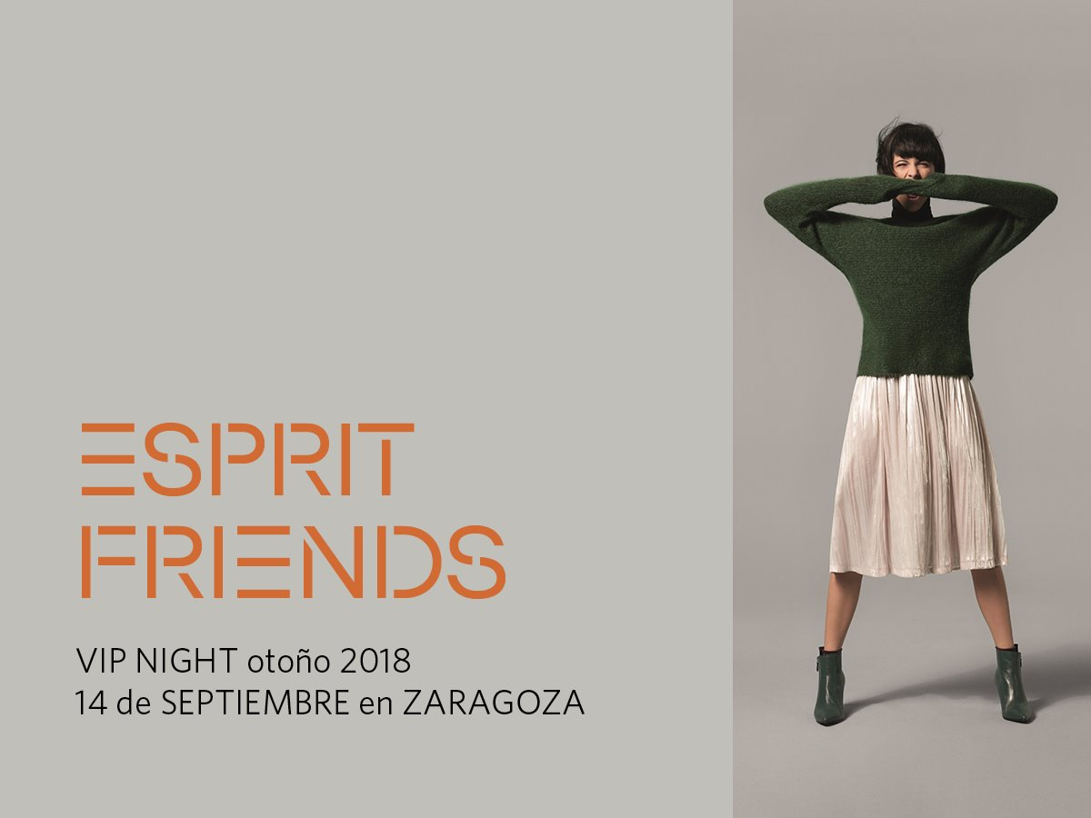 ESPRIT ON. VIP NIGHT FW ESPRIT en ZARAGOZA