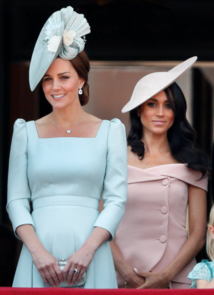 Kate Middlenton y Meghan Markle