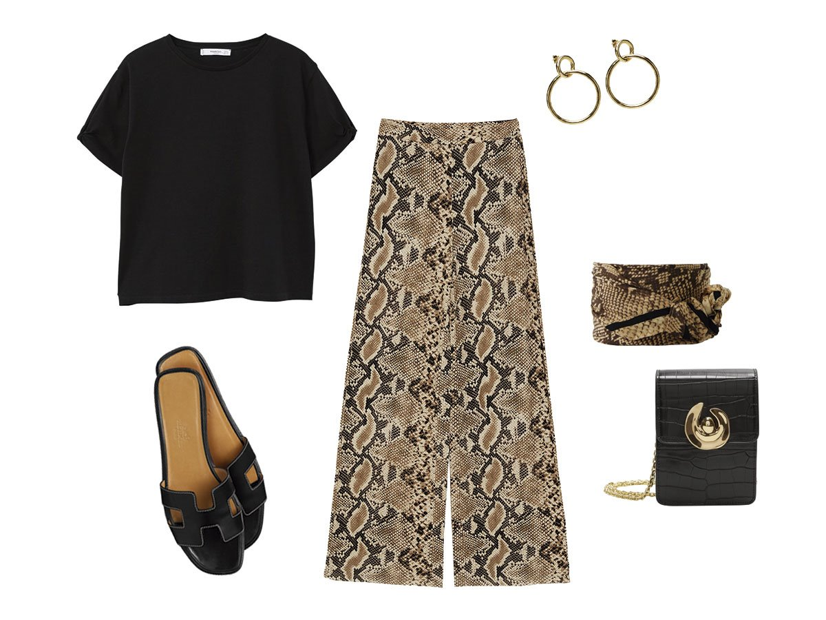 look-del-finde. La tendencia 'animal print' llega a tu armario