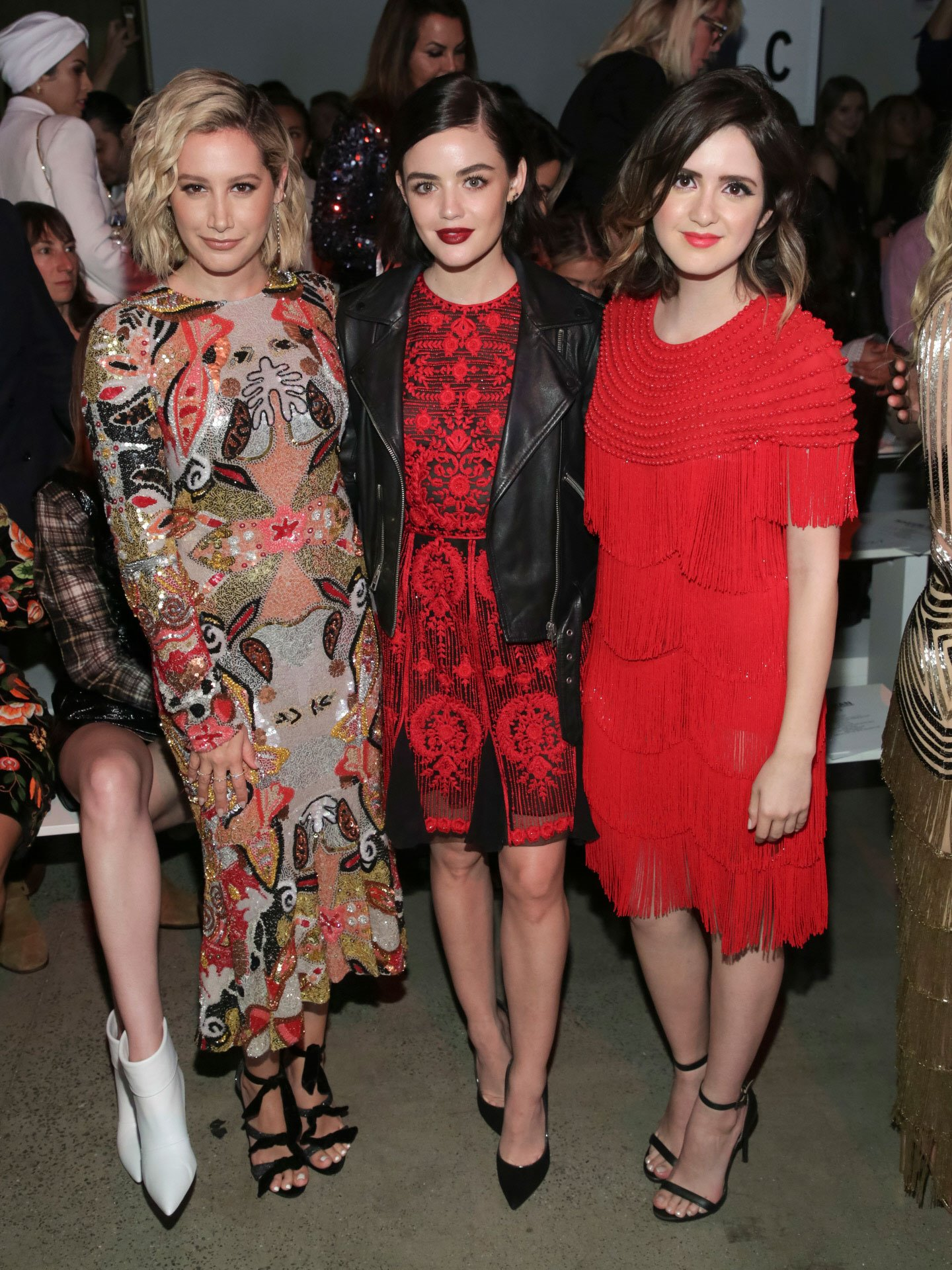 Ashley Tisdale, Lucy Hale y Laura-Marano