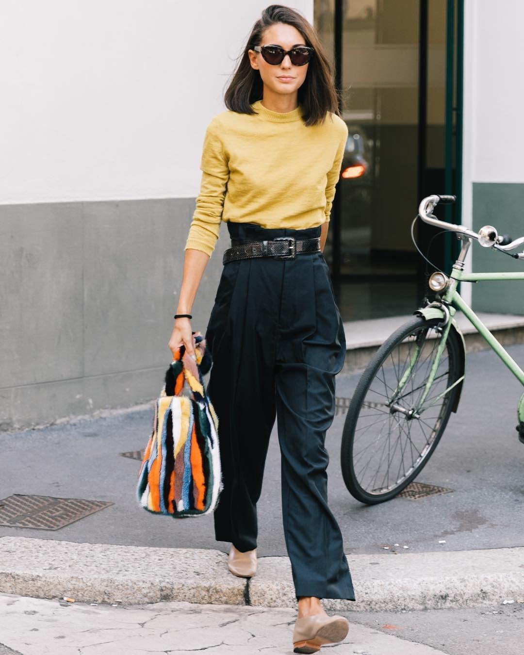 afaf458e6c4b Pantalones de mujer que estilizan: los 'paper bag' - InStyle