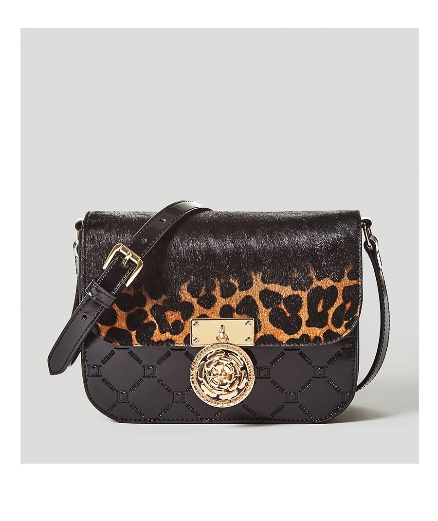 Bolso animal print Guess. Bolso estilo bandolera con animal print