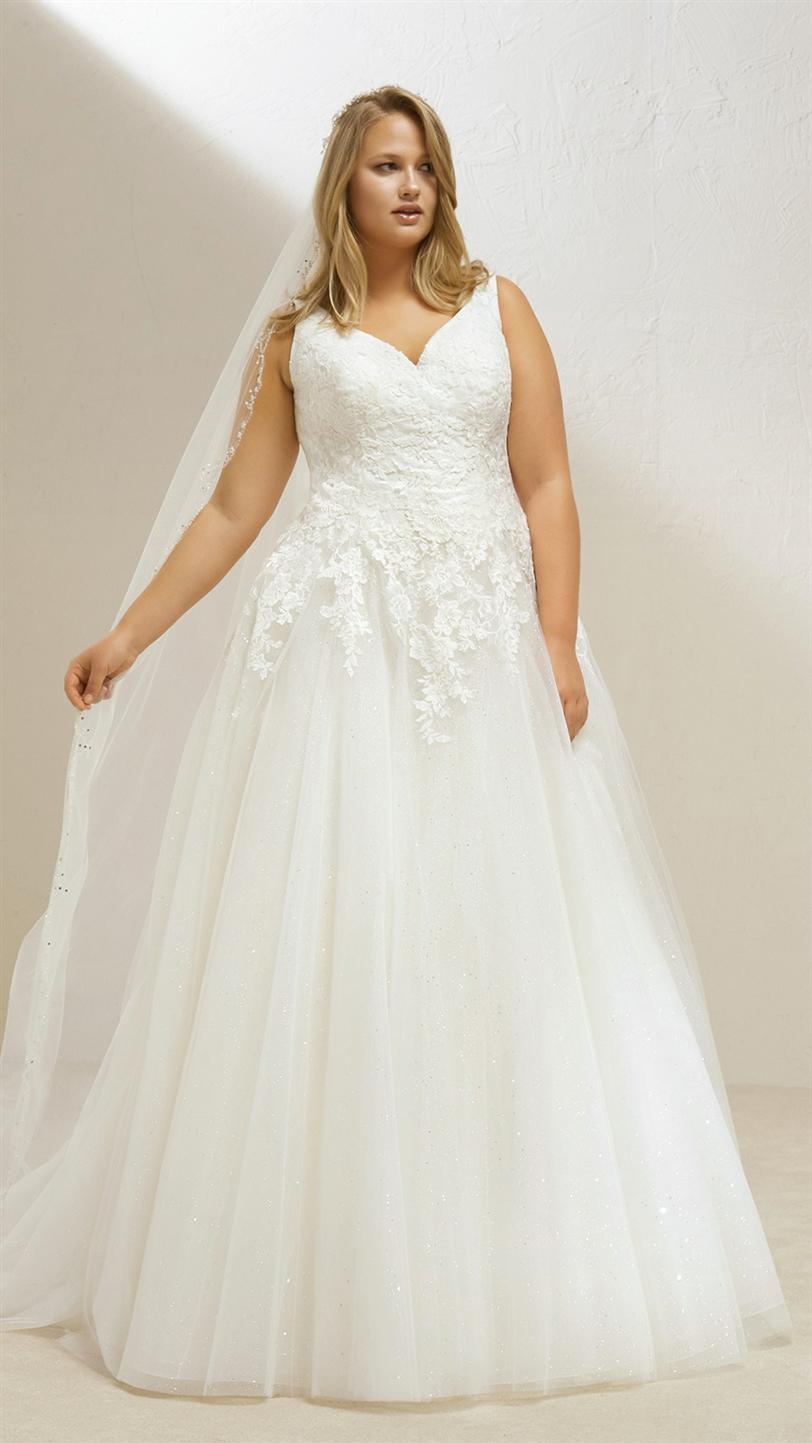 en venta en línea mejor baratas los Angeles Pronovias lanza colección de vestidos de novia de tallas ...