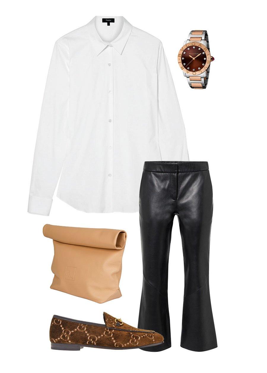 b435ed9f950aa Camisa blanca de mujer  3 formas de combinarla y conseguir un ...