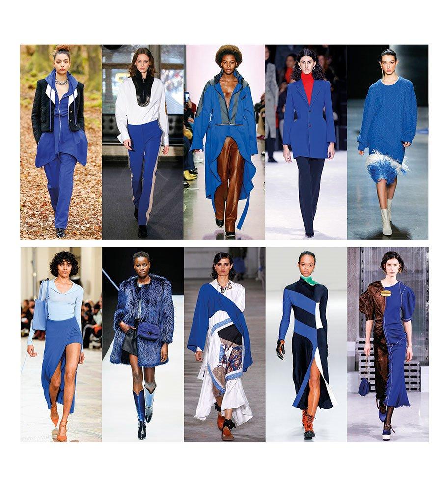 01 TENDENCIAS-AZUL. Oda al azul, el color de moda del invierno 2019