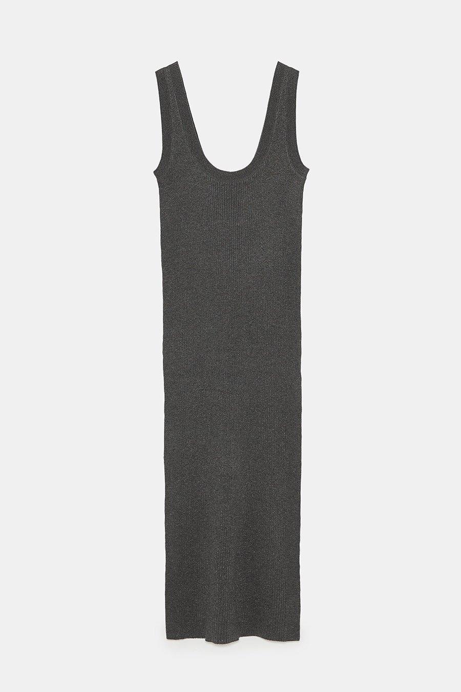 4e8811dd4 primera coleccion premama Zara vestido. El vestido ajustado que marca  embarazo también está en Zara
