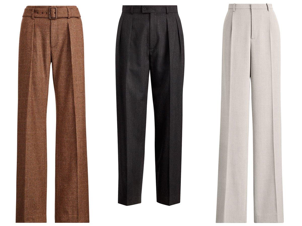 Pantalones De Tiro Alto De Mujer Los Mas De Moda Del Otono 2018