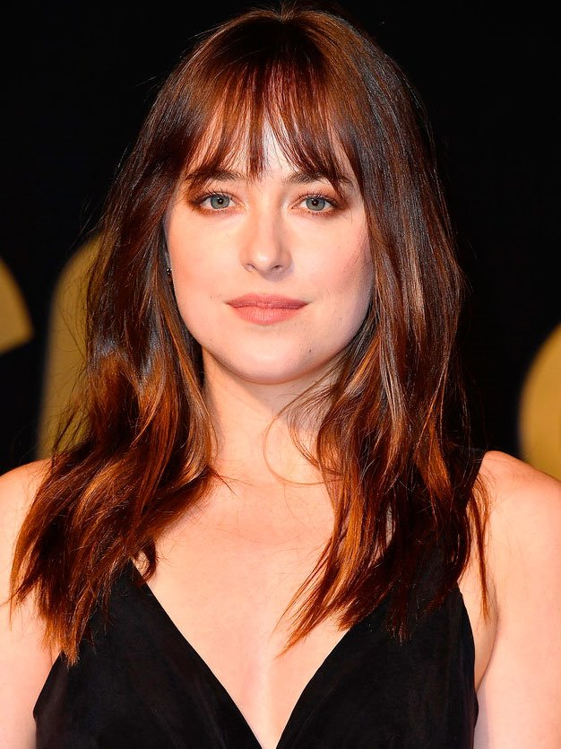 flequillo-dakota-cara. Dakota Johnson: cara ovalada