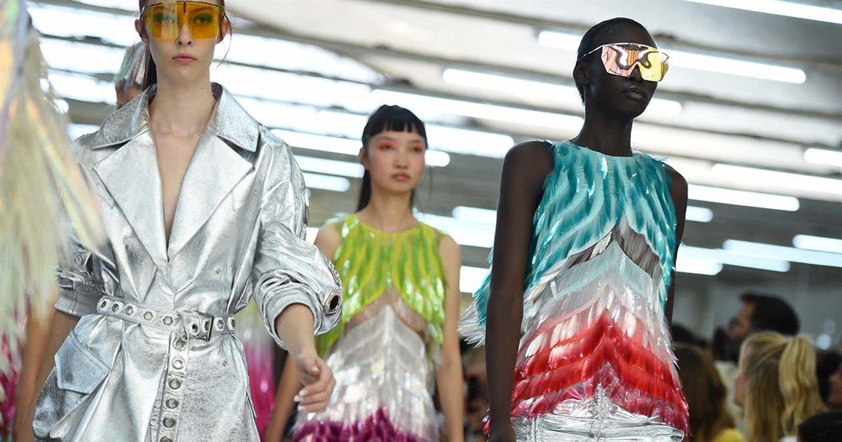 tendencias de moda primavera-verano 2019 vistas en milan fashion