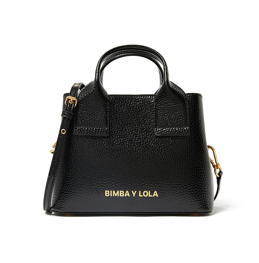 Bimba y lola otoño 2018 bolso negro básico. El bolso que no pasa de moda 56e471e69d6
