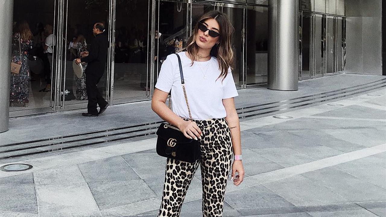nuevo estilo 47a4e eb252 Los pantalones de leopardo de Zara más de moda del invierno ...
