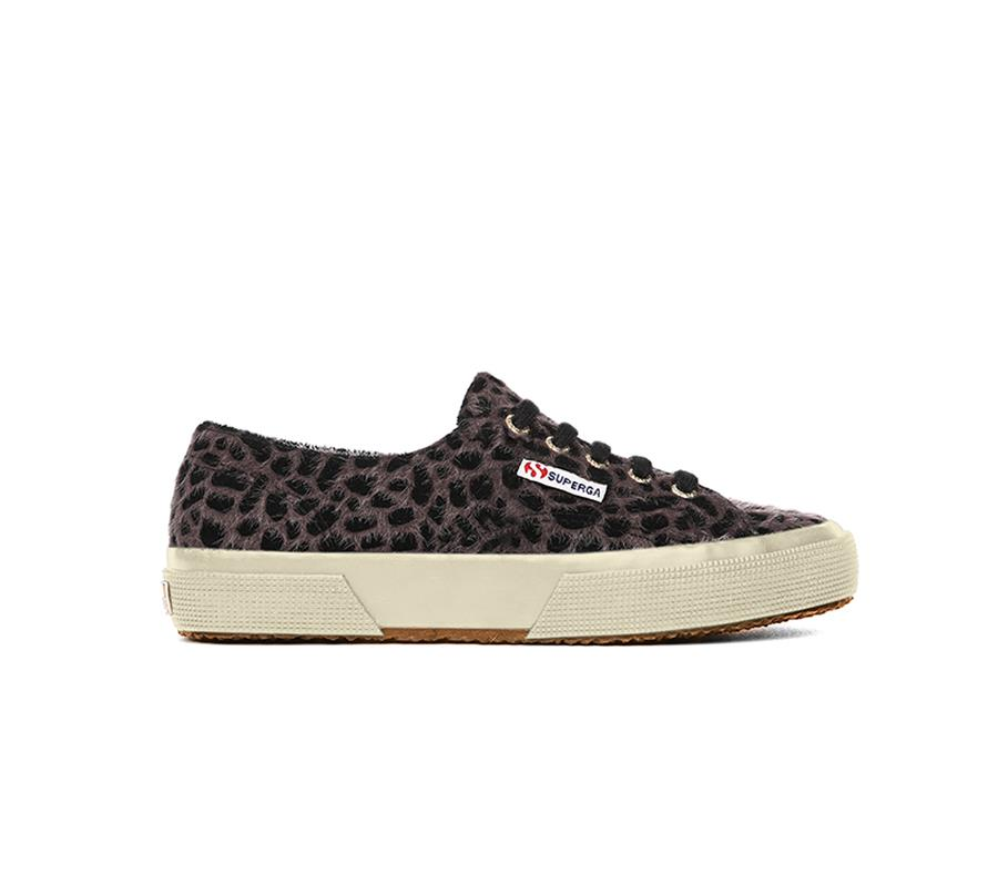 animal print zapatillas Superga. Zapatillas con print de leopardo de Superga