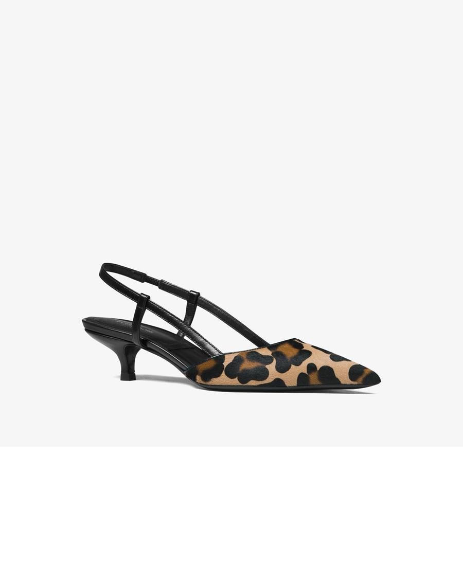 animal print zapatos Michael Kors. Zapatos con tacón sensato de Michael Kors 17553394a2cc