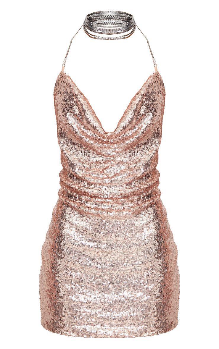 31c990003 Vestidos de Nochevieja con lentejuelas