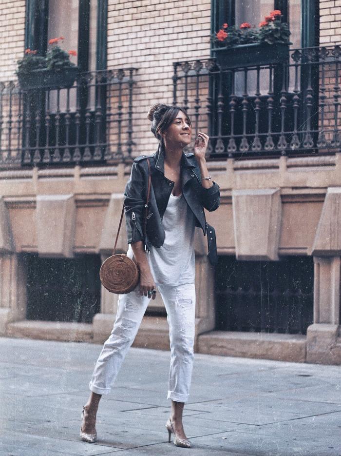 Como Combinar Un Pantalon Blanco Mujer Ane Hernando Por Look And Chic