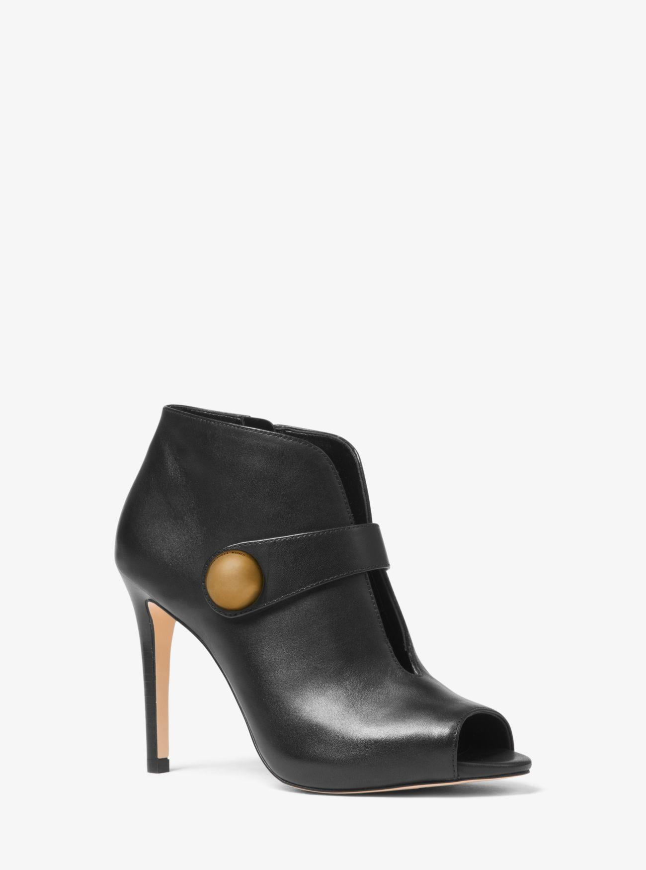 booties-woman-michael-kors.  Ankle heel boots