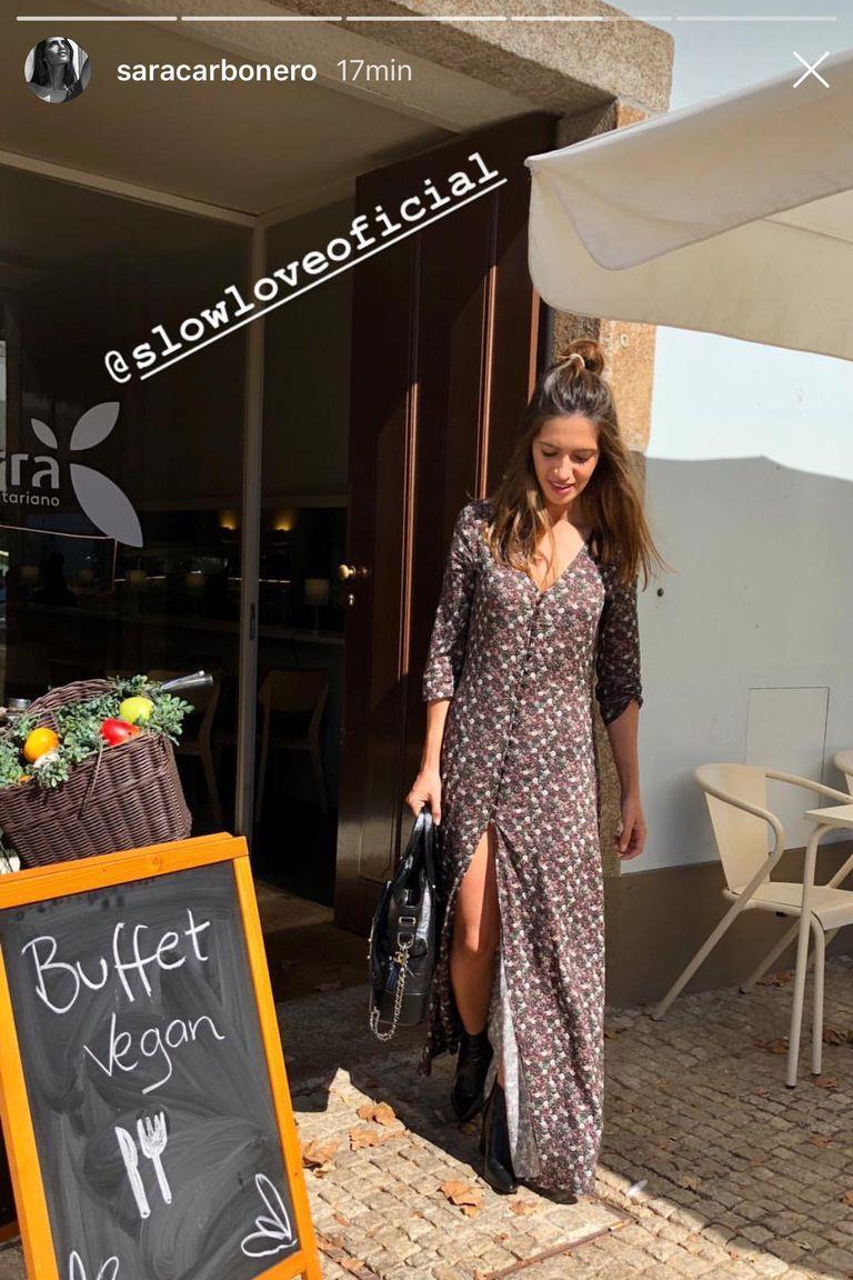 5a1d7c38a6 Sara Carbonero tiene el vestido más bonito del otoño ¡y está de ...
