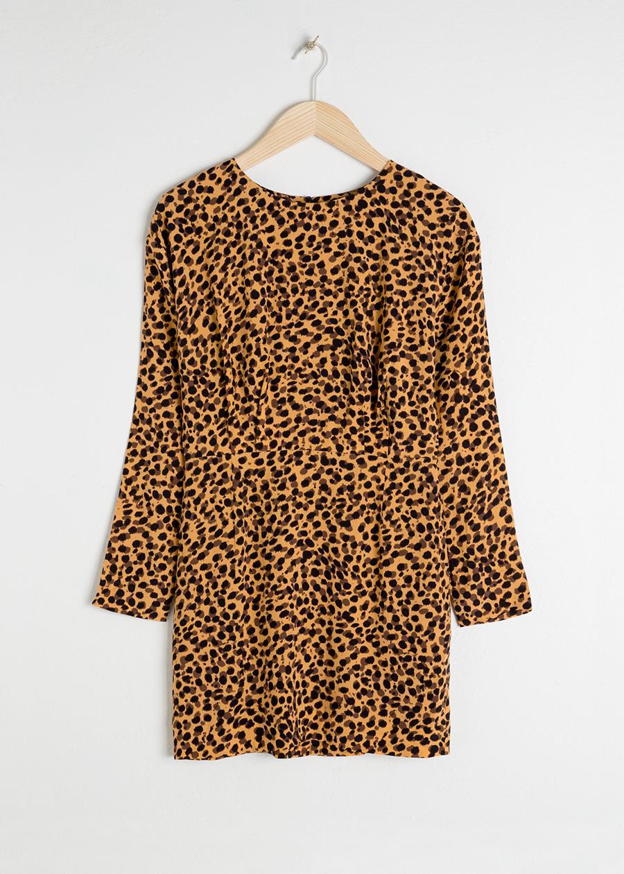 71ed0051194 Vestido de nochevieja leopardo. Vestidos de Nochevieja con estampado de  leopardo