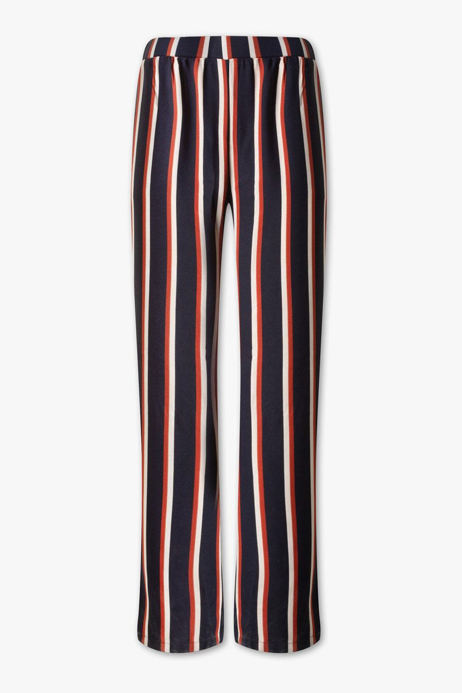 36e514a5d3 Pantalones de mujer estampados más de moda del otoño-invierno 2018 ...