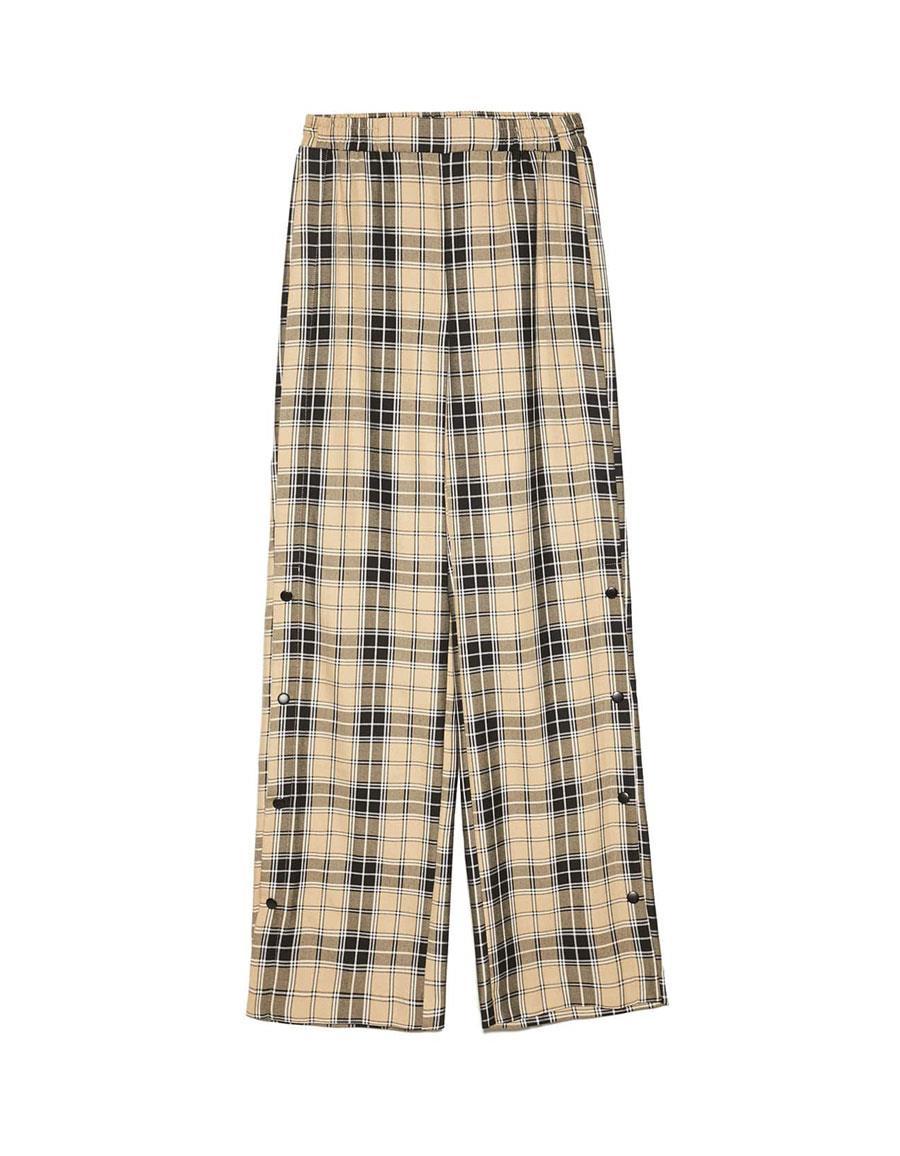 bcd2bd8eba Pantalones de mujer estampados más de moda del otoño-invierno 2018 ...