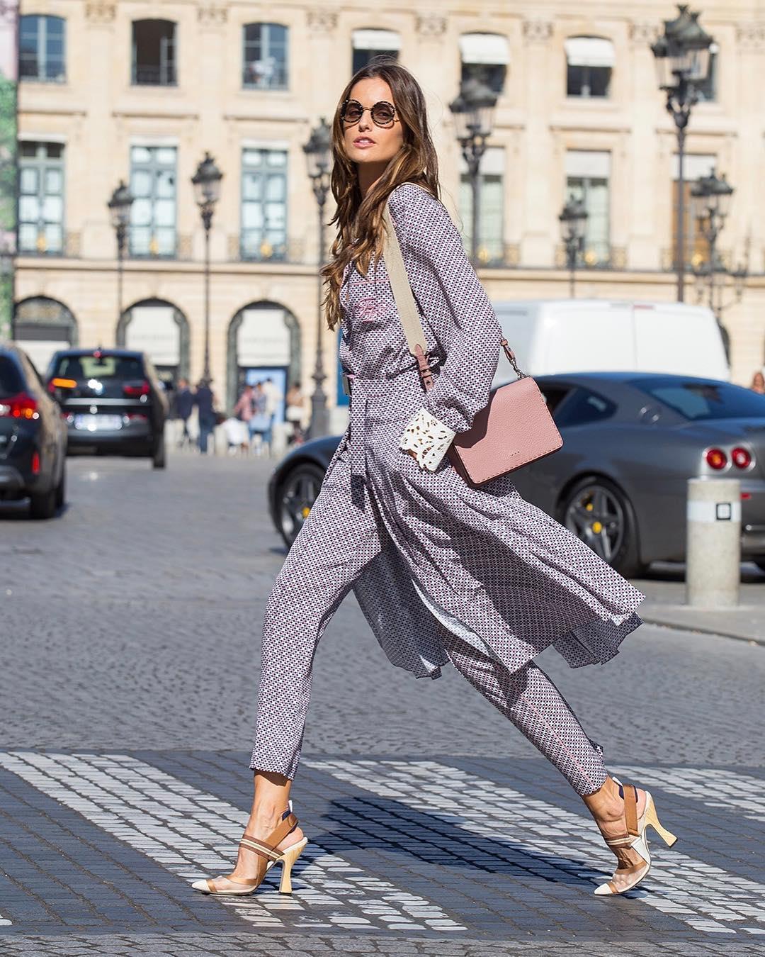 8143a3d0c6 pantalones-estampados-izabel-goulart. Pantalones de mujer estampados de lo  más elegantes