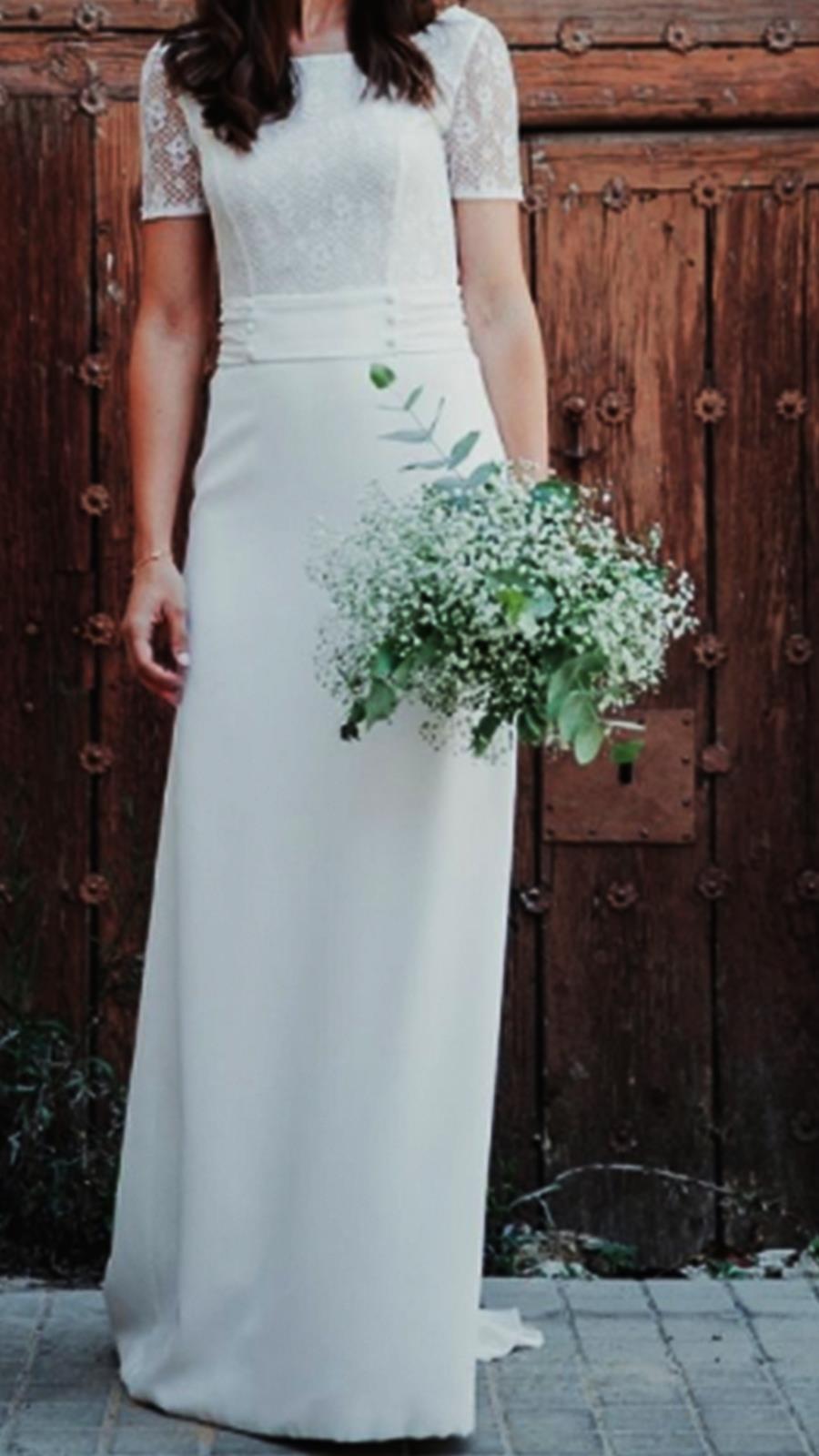 ce160b5c2 Vestido de novia de segunda mano de Celebratubnoda.com 1.200 euros. Los  vestidos de