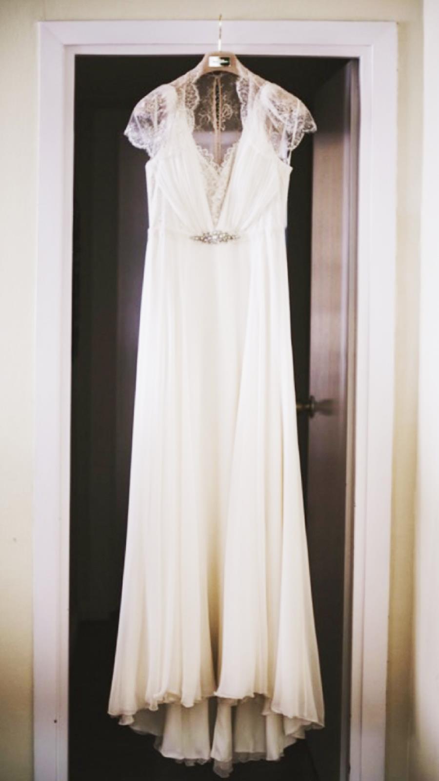f1f7b4fd3 Vestido de novia de segunda mano de Jenny Packham visto en Nuptialista por  1.000 euros.
