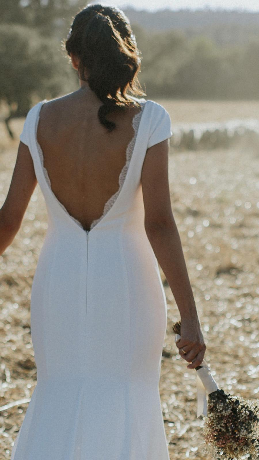 d3fe0a45a Vestido de novia de segunda mano de Weddalia de Rosa Clará 2.300 euros a  950 euros