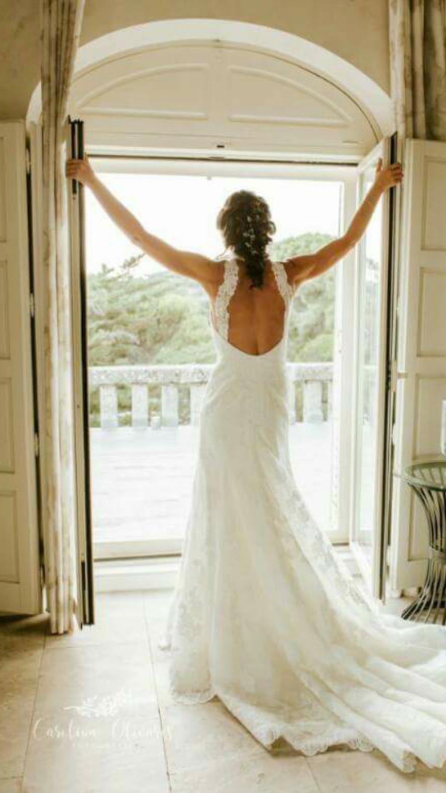 a37cb2de3 Vestido de novia San Patrick de 1.900 euros a 750 euros en Weddalia.  Vestidos de