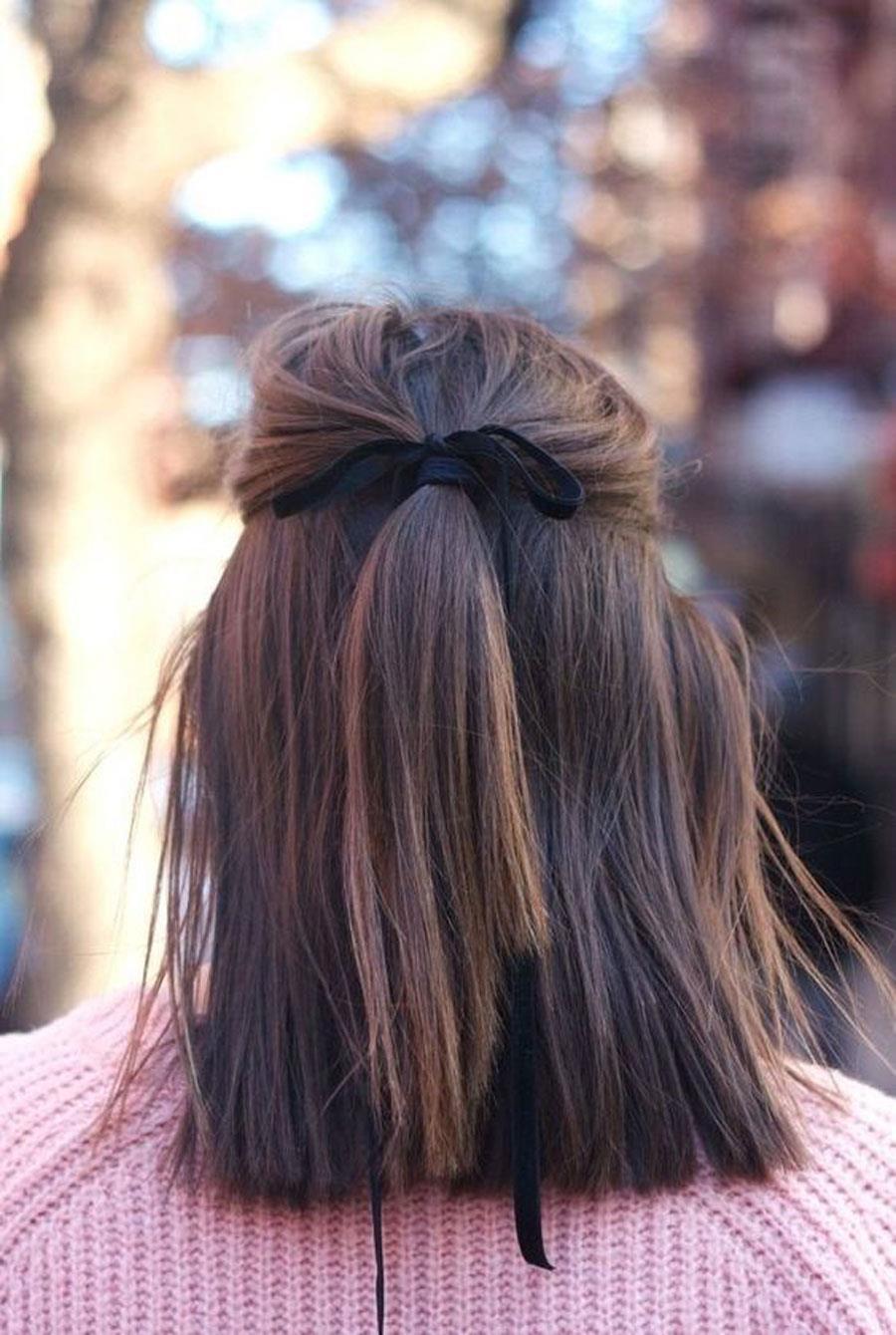 Peinados Media Melena De Fiesta Sueltos Y Recogidos Instyle