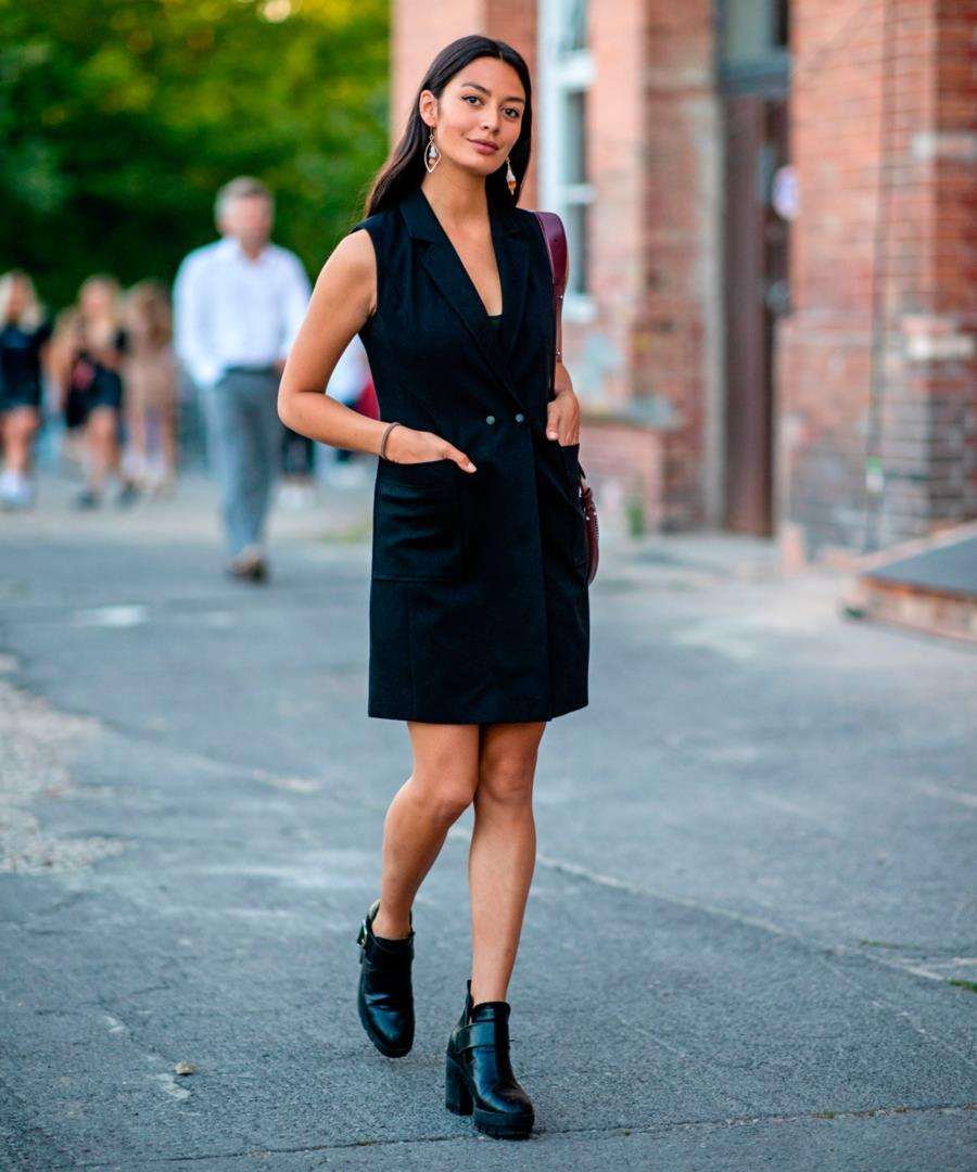 Vestido blazer  10 vestidos de moda que suben de nivel tu look - InStyle bb0a0340e161