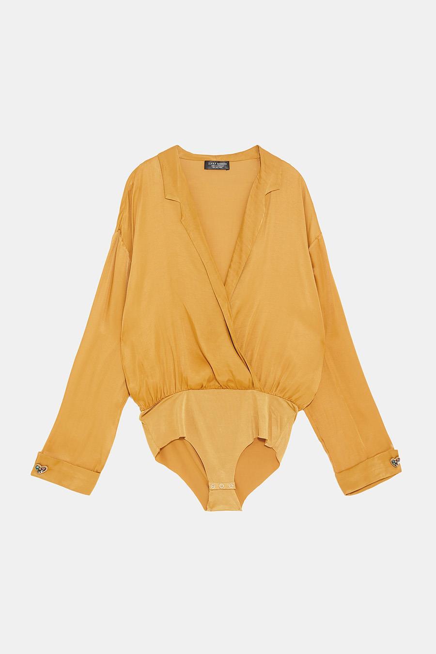 2e677028ef Zara nueva colección: body de de mujer baratos para tus looks de ...