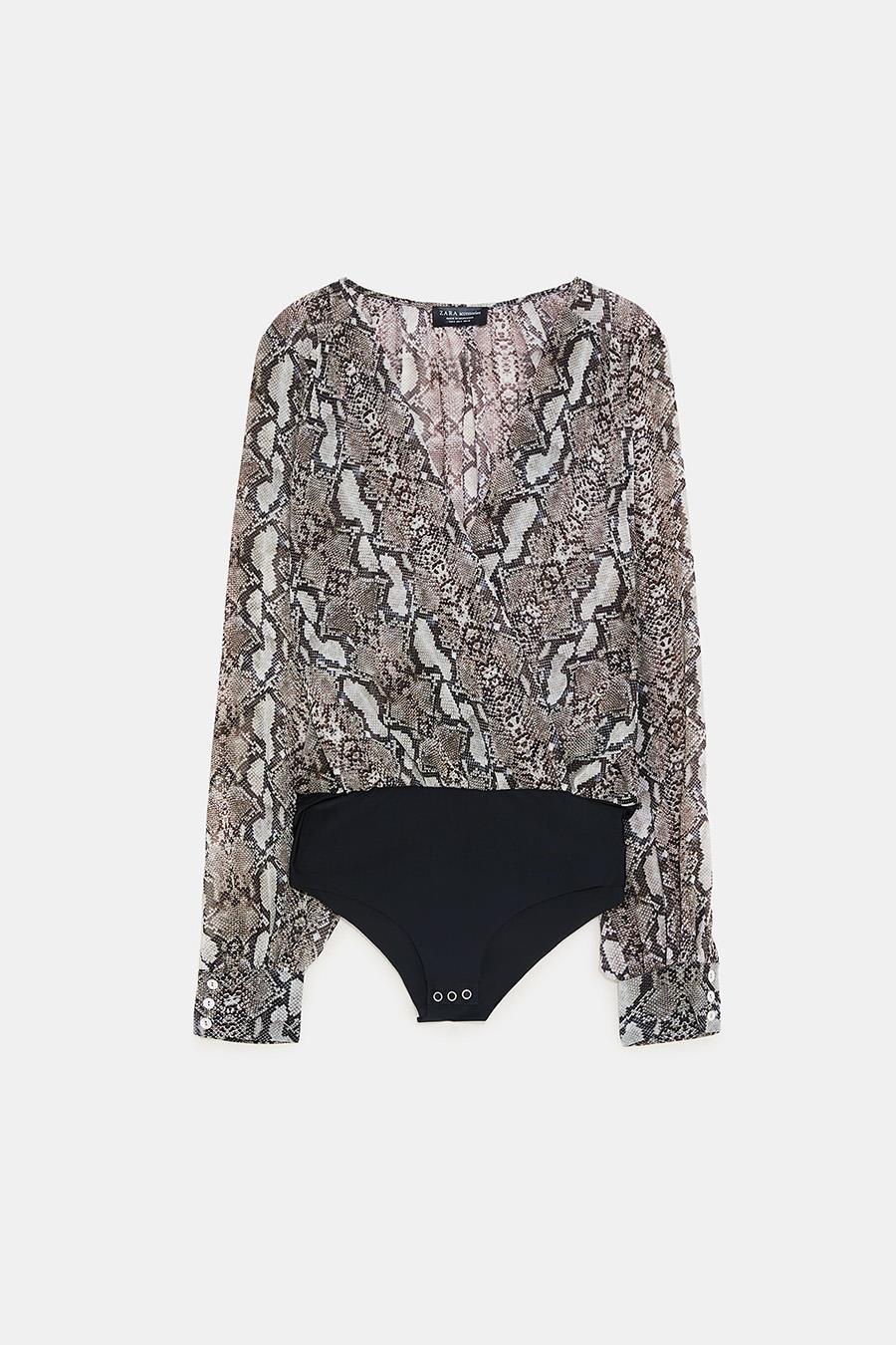ded164ef6b Zara tiene la prenda perfecta para tus looks de fiesta del otoño-invierno  2018/19: los bodies de mujer son los protagonistas de la nueva colección  del ...