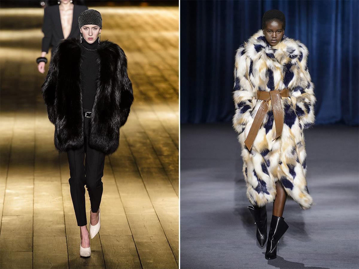 1186c047410 Abrigos de pelo sintético  los más de moda del invierno 2019 - InStyle