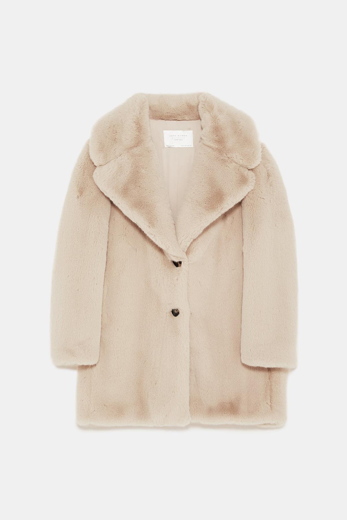 5690a496f076f Abrigos de pelo sintético  los más de moda del invierno 2019 - InStyle