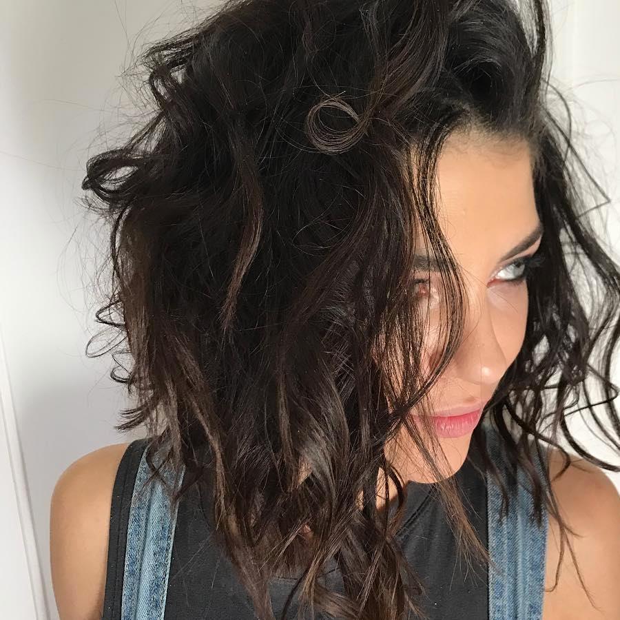 Cortes de pelo bob para cabello rizado